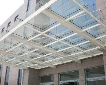 钢结构雨棚YP-004