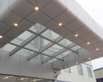 钢结构雨棚YP-008