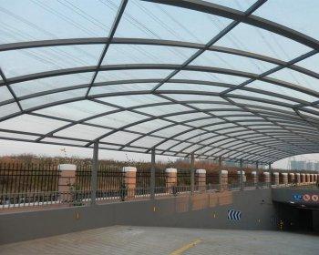 钢结构雨棚YP-009