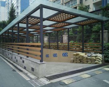 钢结构雨棚YP-012