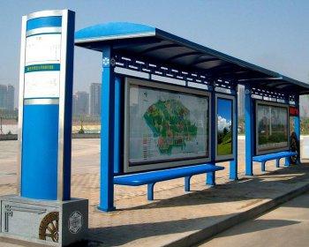 公交候车亭HCT-004